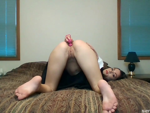 Your clit Porn anal beads let her give